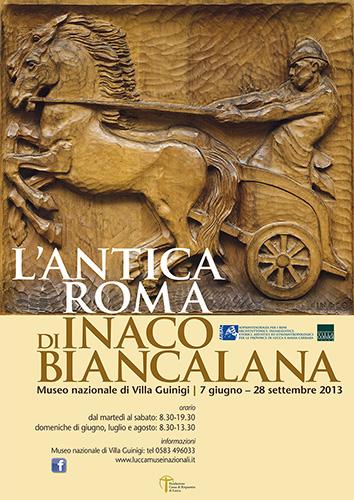 Locandina mostra Biancalana