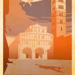 """Locandina mostra """"Viaggi immaginari"""""""